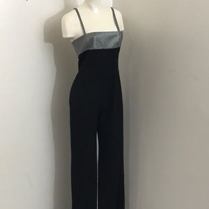 Gianni Versace Couture Black Jumpsuit size 44